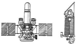 Астрофизическая станция «Астрон» с УФ-телескопом диаметром 90см и рентгеновским телескопом СКР-02М
