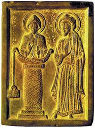 Древнерусская резная икона