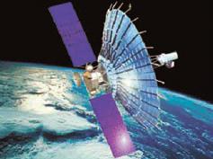 Рисунок спутника «Радио- астрон» для наземно-кос мического радиоинтер-фрометра