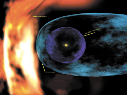 Устройство гелиосферы. Иллюстрация NASA