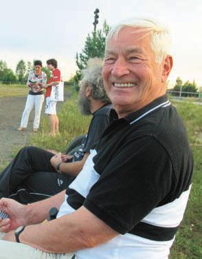 А.Б. Сосинский всегда энергичен, бодр и неизменно доброжелателен