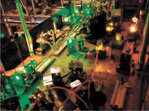 Экспериментальная установка по оптической нанодиагностике