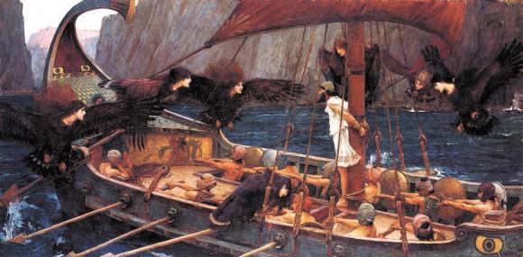 «Одиссей и сирены». Джон Уотерхаус, 1891