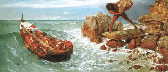Одиссей и Полифем. Арнольд Бёклин, 1896