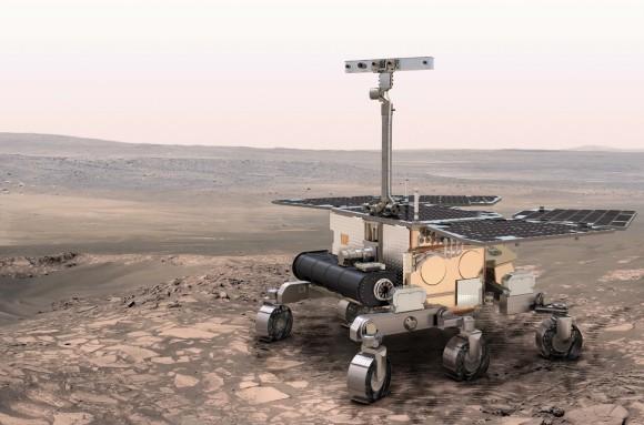 Марсоход ExoMars. Изображение ESA