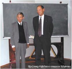 Профессор Ф.Дайсон и академик В.Рубаков
