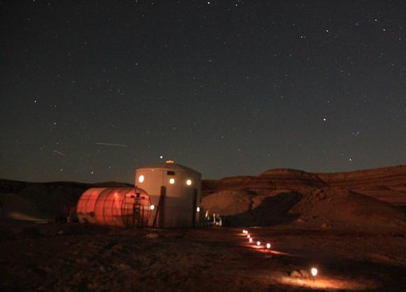 Обсерватория MDRS. Фото (c) MDRS Team Russia
