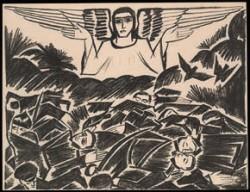 Лист из серии «Мистические образы войны». (Собр. MоMa)