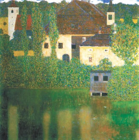 Замок на воде
