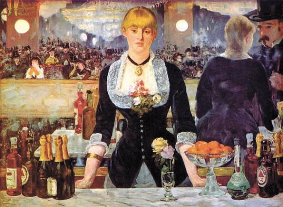 Эдуард Мане. «Бар в Фоли-Бержер» (1882)