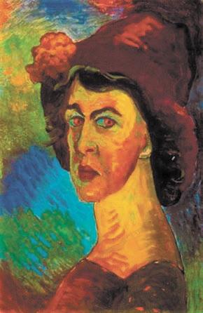 Марианна Верёвкина. Автопортрет. 1910 год