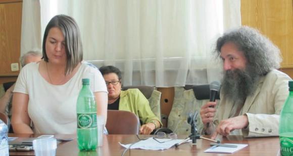 Анна Абалкина и Михаил Гельфанд