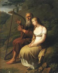 Иоганн Питер Крафт (1780–1856). Оссиан и Мальвина. 1810