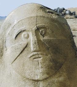 Голова статуи (чемурчекская культура)