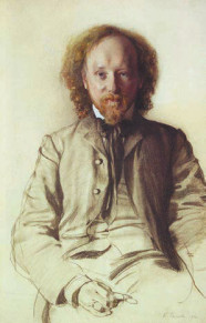 Вяч. Иванов, рисунок Константина Сомова (1906)