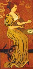 Портрет Мадам Рансон с кошкой