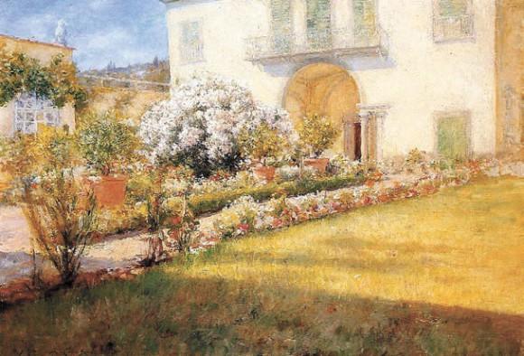 Флорентийская вилла. 1907 год