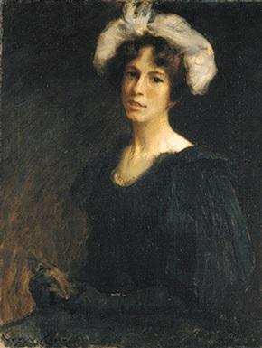 Портрет скульптора Бесси Поттер. Около 1895 года