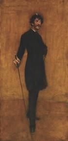 Портрет Джеймса Уистлера. 1885 год