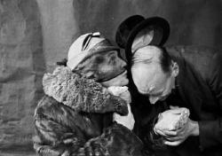 П. Н. Барто и С. И. Огнёв, 25 января 1942 года
