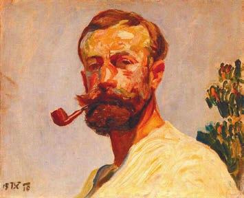 Автопортрет, 1910