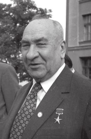 Борис Александрович Рыбаков (1908–2001) — советский историк, специалист по Древней Руси, директор института археологии АН СССР (1956–1987)
