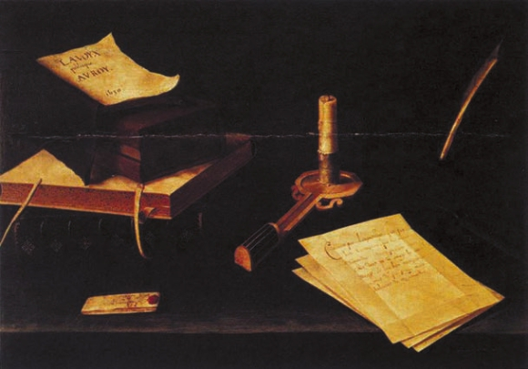 Натюрморт со свечой. 1630