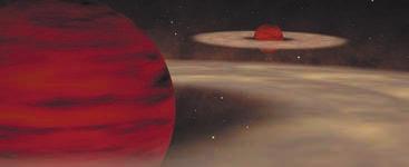 В двойной системе Oph 162225-240515 оба компаньона являются коричневыми карликами,  причем очень маломассивными,  с массами около 7 и 14 масс Юпитера. С сайта www.eso.org