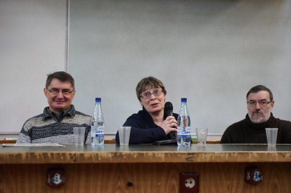 А.Первушин, Е.Клещенко, К.Еськов. Фото Н.Деминой