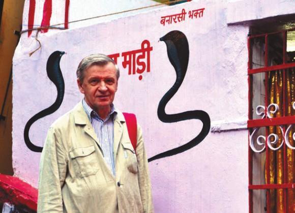 Л. Боркин. Город Шимла (Индия), 28 Сентября 2011 года. Фото А. Андреева