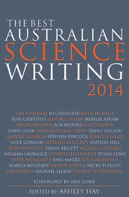 Обложка книги The Best Australian Science Writing 2014
