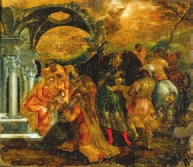 Доменикос Теотокопулос (Эль Греко).  Рождество