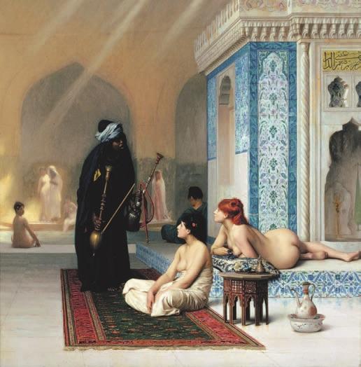Жан Леон Жером, «Бассейн в гареме» (1876)