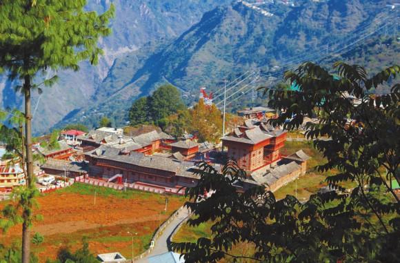 Сарахан. Общий вид на храмовый комплекс. Фото В. Скворцова