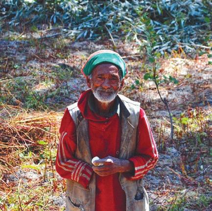 Житель Ракчама. 2 октября 2011 года. Фото А. Андреева