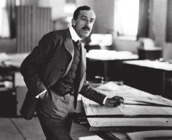 Ван де Вельде в своей студии (1908)