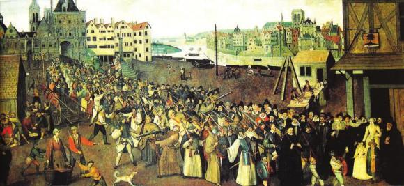 Вооруженная процессия католической лиги в Париже, 1590 год. Музей Карнавале