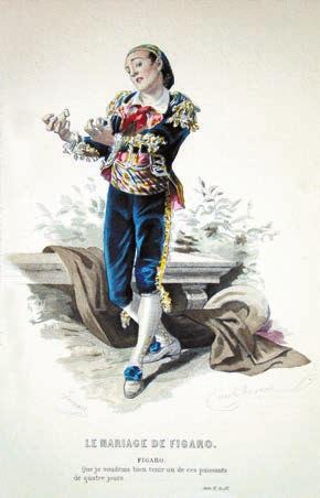 Фигаро. La Folle journee ou Le Mariage de Figaro, 1778 год