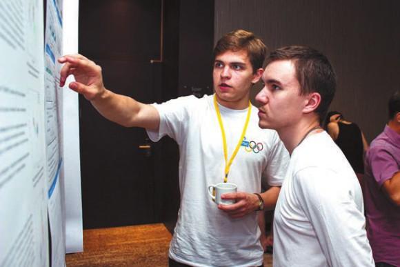 В постерной сессии ИТиС-2015 участвовало 75 докладов молодых ученых