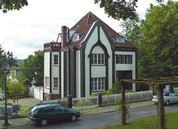 Дом Беренса в Дармштадской колонии