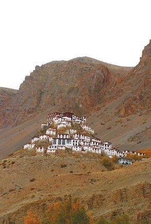 Монастырь Ки. 8 октября 2011 года. Фото С. Литвинчука
