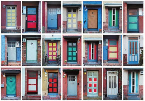 Фото 2. Образцы дверей