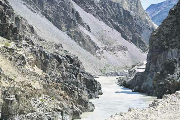 Река Занскар. Фото Б. К. Ганнибала