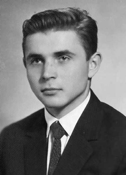 Студент Н. И. Шакура (1964). Из семейного архива