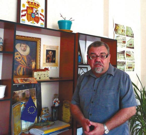 Александр Пронкевич,  директор Института филологии Черноморского государственного университета. Фото автора