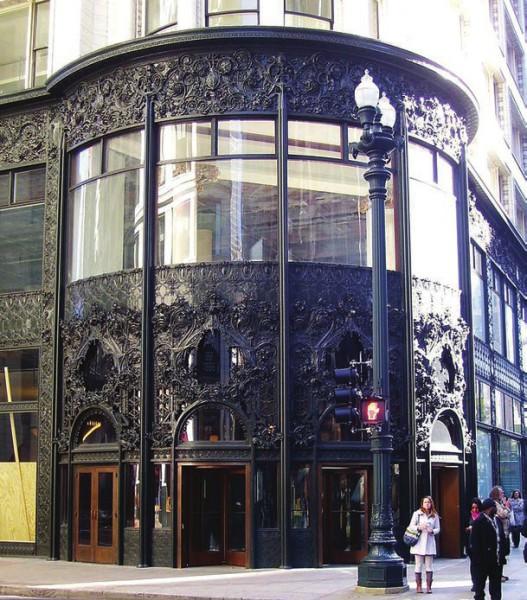 Орнамент у входа в здание универмага «Карсон, Пири, Скотт и компания» (Чикаго)