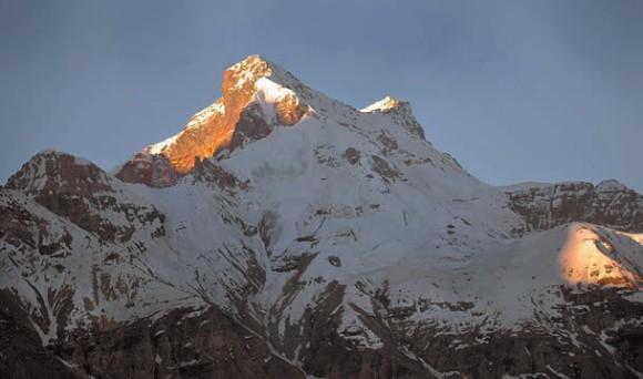 Вершина Кун (Kun, 7077 м). 4 июля