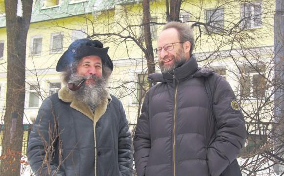 М. Гельфанд и М. Цфасман. Фото А. Крещука