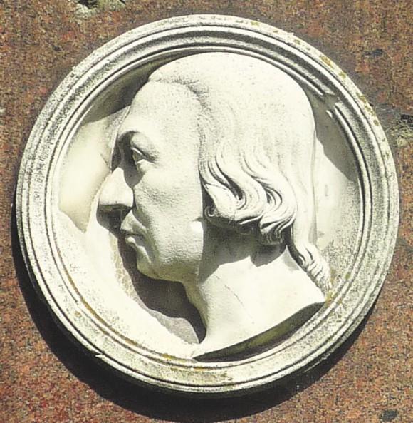 Памятник на могиле Палласа в Берлине