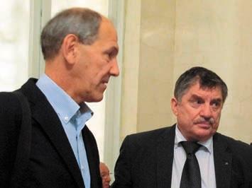 В.Рубаков и В.Иванов на заседании ПРАН 12 ноября 2013 года